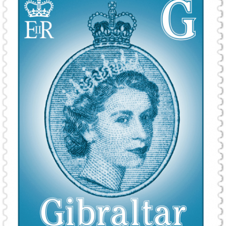 Gibraltar Stamp - 22p (G)